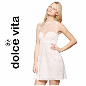 DV by Dolce Vita Rosabella Lace Shift Dress NWOT